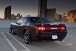 2013 Dodge Challenger SXT in Black Clearcoat - Static Rear Left View