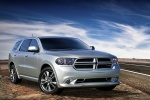 2013 Dodge Durango R/T in Bright Silver Metallic Clearcoat - Static Front Right Three-quarter View