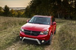 2019 Dodge Journey Crossroad AWD in Redline 2 Coat Pearl - Static Front Left View