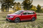 2019 Dodge Journey Crossroad AWD in Redline 2 Coat Pearl - Static Side View