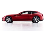 2014 Ferrari FF Coupe in Rosso Scuderia - Static Side View