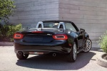 2017 Fiat 124 Spider in Nero Cinema Jet Black - Static Rear Right View