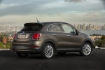 2016 Fiat 500X in Bronzo Magnetico Opaco - Static Rear Right Three-quarter View