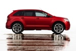 2011 Ford Edge Sport in Red Candy Metallic Tinted Clearcoat - Static Side View