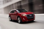 2011 Ford Edge Sport in Red Candy Metallic Tinted Clearcoat - Driving Front Right View