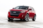 2011 Ford Edge Sport in Red Candy Metallic Tinted Clearcoat - Static Front Left View