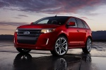 2011 Ford Edge Sport in Red Candy Metallic Tinted Clearcoat - Static Front Left Three-quarter View