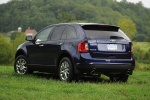 2011 Ford Edge SEL in Kona Blue Metallic - Static Rear Left Three-quarter View