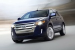 2011 Ford Edge Limited in Kona Blue Metallic - Driving Front Left Three-quarter View