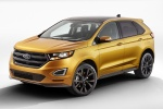 2015 Ford Edge Sport in Electric Spice Metallic - Static Front Left Three-quarter View