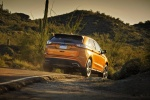 2015 Ford Edge Sport in Electric Spice Metallic - Driving Rear Right View