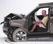 2011 Ford Escape SUV IIHS Frontal Impact Crash Test Picture