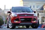 2013 Ford Escape Titanium 4WD in Ruby Red Tinted Clearcoat - Static Frontal View