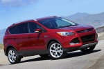 2015 Ford Escape Titanium 4WD in Ruby Red Tinted Clearcoat - Static Front Right Three-quarter View