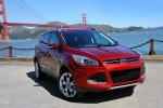2016 Ford Escape Titanium 4WD in Ruby Red Tinted Clearcoat - Static Front Right View