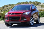 2016 Ford Escape Titanium 4WD in Ruby Red Tinted Clearcoat - Static Front Left View