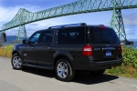 2010 Ford Expedition EL in Tuxedo Black Metallic - Static Rear Left Three-quarter View