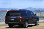 2013 Ford Expedition EL in Tuxedo Black Metallic - Static Rear Right Three-quarter View