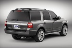 2015 Ford Expedition Platinum in Magnetic Metallic - Static Rear Right Three-quarter View