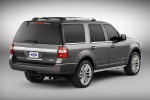 2016 Ford Expedition Platinum in Magnetic Metallic - Static Rear Right Three-quarter View