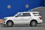 2019 Ford Expedition Platinum in Oxford White - Static Left Side View