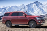 2019 Ford Expedition XLT FX4 in Ruby Red Metallic Tinted Clearcoat - Static Front Right Three-quarter View