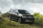 2019 Ford Expedition Max Limited in Magnetic Metallic - Driving Front Right Three-quarter View