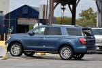 2019 Ford Expedition Limited in Blue Metallic - Static Rear Left Three-quarter View
