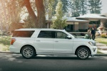 2020 Ford Expedition Max Platinum in Oxford White - Static Right Side View