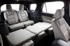 2013 Ford Explorer Limited 4WD Rear Seats Folded in Medium Light Stone