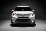 2014 Ford Explorer Limited 4WD in White - Static Frontal View