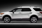 2014 Ford Explorer Limited 4WD in White - Static Left Side View