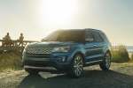 2019 Ford Explorer Platinum 4WD - Static Front Left View