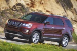 2019 Ford Explorer Limited 4WD - Driving Front Left View