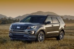 2019 Ford Explorer Sport 4WD in Magnetic Metallic - Static Front Left Three-quarter View