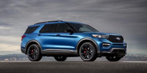 2020 Ford Explorer Hybrid, XLT, Limited, ST, Platinum V6 4WD Review