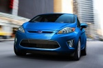 2013 Ford Fiesta Hatchback in Blue Candy Metallic Tinted Clearcoat - Driving Front Left View