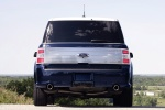 2010 Ford Flex EcoBoost in Dark Ink Blue Metallic - Static Rear View