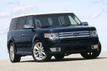 2011 Ford Flex EcoBoost in Dark Ink Blue Metallic - Static Front Right View