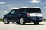 2011 Ford Flex EcoBoost in Dark Ink Blue Metallic - Static Rear Left Three-quarter View