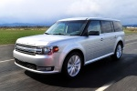 2013 Ford Flex SEL in Ingot Silver Metallic - Driving Front Left Three-quarter View