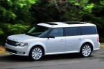 2013 Ford Flex SEL in Ingot Silver Metallic - Driving Left Side View