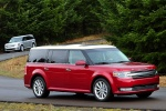 2013 Ford Flex SEL in Ruby Red Metallic Tinted Clearcoat - Driving Front Right Three-quarter View