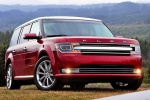 2013 Ford Flex SEL in Ruby Red Metallic Tinted Clearcoat - Static Front Right View