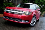 2013 Ford Flex SEL in Ruby Red Metallic Tinted Clearcoat - Static Front Left View