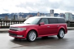 2013 Ford Flex SEL in Ruby Red Metallic Tinted Clearcoat - Driving Front Left Three-quarter View