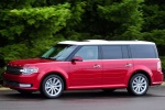 2013 Ford Flex SEL in Ruby Red Metallic Tinted Clearcoat - Driving Left Side View