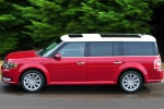 2013 Ford Flex SEL in Ruby Red Metallic Tinted Clearcoat - Driving Side View
