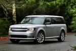 2013 Ford Flex SEL in Ingot Silver Metallic - Static Front Left Three-quarter View