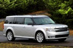 2013 Ford Flex SEL in Ingot Silver Metallic - Driving Front Right Three-quarter View